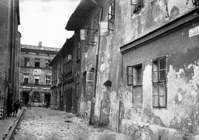 Kraków Kazimierz - zdjęcia lotnicze