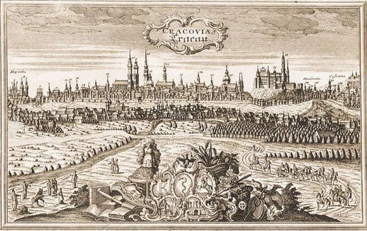 Kraków z nieba